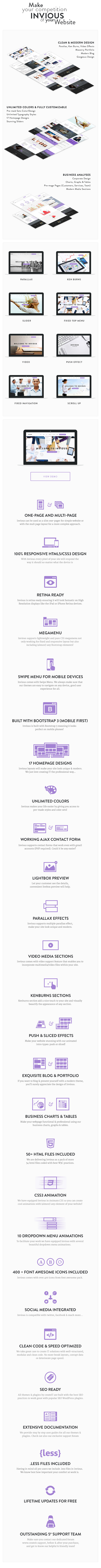 INVIOUS - Clean Responsive Corporate HTML Template - 8